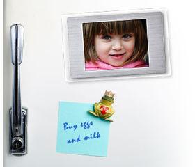 Digital fridge magnet released