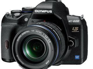 Big camera small price Olympus announces the E 600 D SLR