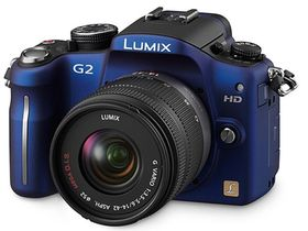 Panasonic unveils Micro Four Thirds G2 camera