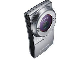 The Samsung HMX U20 camcorder