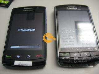 The new BlackBerry Storm 9520