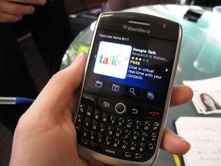 BlackBerry App World in action