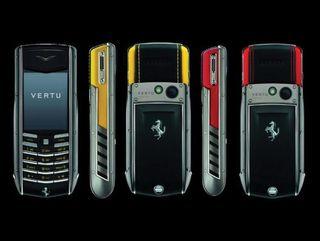 Nokia Vertu Ferrari Ascent Ti
