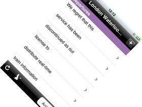 National Rail Enquiries defends free iPhone App cutoff decision