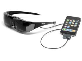 Vuzix video glasses now iPhone friendly