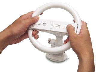 New Wii steering wheel releases in Japan this week