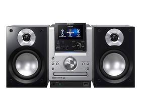 Sony unveils Giga Juke MP3 hi-fi system