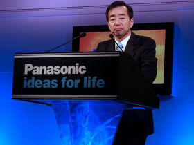 CES 2007: Panasonic goes big on HDTV
