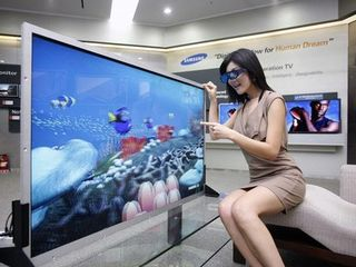 Samsung s new 55 inch 3D display