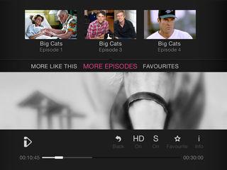 BBC iPlayer a new UI