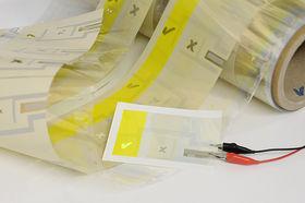 Printing OLEDs like newspaper