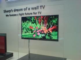Sharp stuns IFA with 20mm-thick TVs