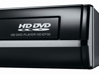 Toshiba HD EP30 HD DVD player detail shot