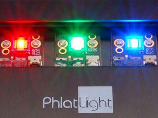 The Phlatlight at just 1 illumination