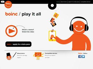 Music streaming service Boinc announced