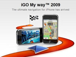 iGo My way latest personal satnav app for iPhone