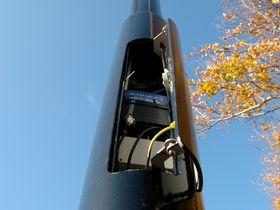 Futuristic lamp-posts to manage UK traffic jams