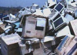 PCs clogging up UK s landfill sites