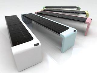 Owen Song s Solar Inside Wi Fi park bench