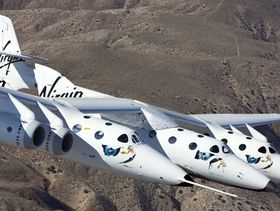 Virgin's VSS Enterprise takes to the skies