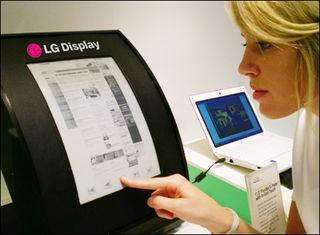LG s flexible display