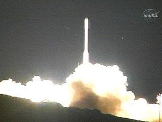 NASA s Taurus rocket at launch