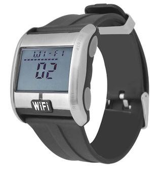 Wi Fi scanning watch