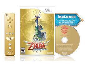 Zelda: Skyward Sword gets gold Wiimote bundle