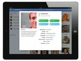 Skype for iPad finally on the way