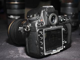 Nikon D800 screen