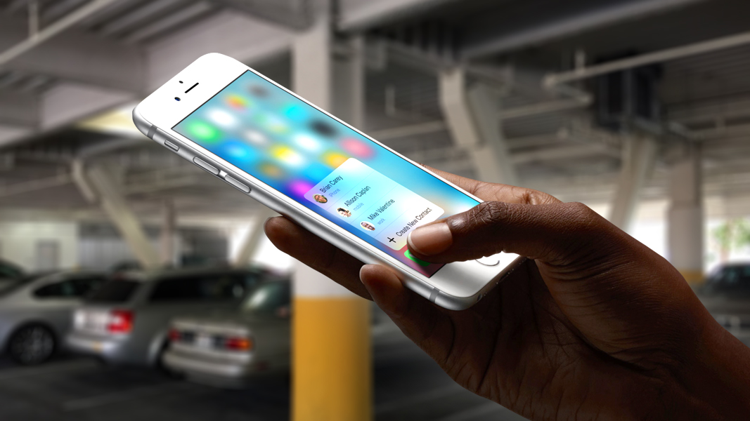 '3D Touch' tudi na androidnih telefonih