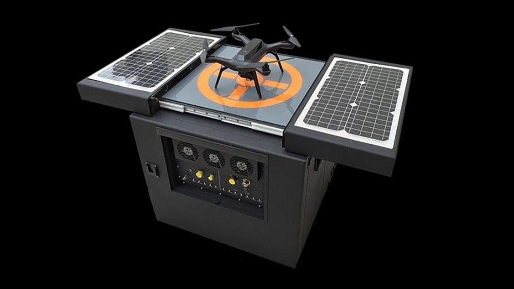 Dronebox, ptičja hišica za drone