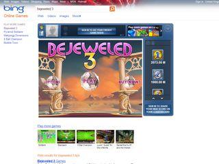 Bing gets a Bejeweled makeover