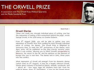 Orwellian blog