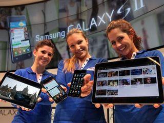 Samsung Galaxy S II and Samsung Galaxy Tab II detailed
