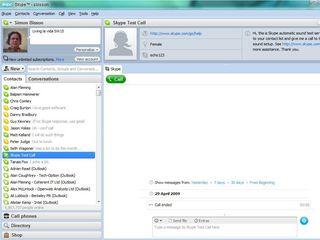 Skype on Windows 7