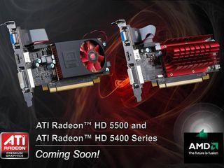 ATI HD 5500 series arrives