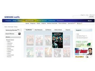 Samsung s new movie download store