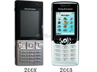 The two phones bridging the half decade gap