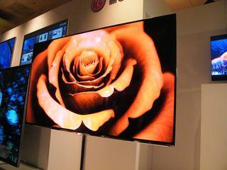 LG unveils 55 inch OLED TV behemoth