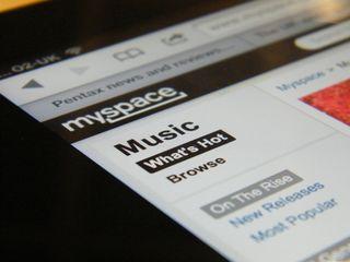 MySpace flies high in UK music site visits